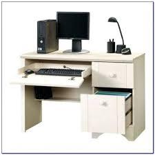 desk sauder harbor view corner computer desk salt oak sauder