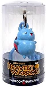 Official Bravest Warriors Catbug Keychain Toy Figure