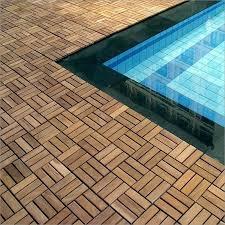 teak interlocking deck tiles deck tiles le click teak interlocking
