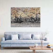 blumen leinwand bild wandbild kunstdruck wohnzimmer 3