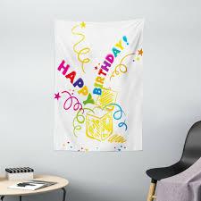geburtstag wandbehang überraschung in box doodle einfache