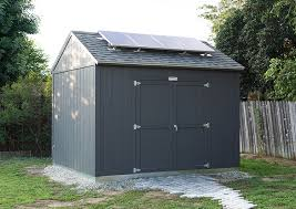 Tuff Shed Door Handle Hardware by A Prefabricated Tuff Shed Into A Solar Powered Workshop
