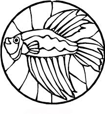 Download Coloring Pages Fish Page Free Printable For Kids Drawing