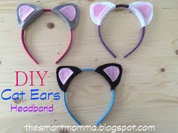 how to make cat ears the smart momma diy cat ears headband