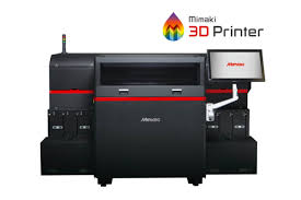 Mimakis First 3D Printer Is The Mimaki 3DUJ 553 UV LED Which Cures Layers