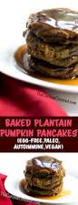 Easy Pumpkin Pancake Recipe by 5 Ingredient Baked Plantain Pumpkin Pancakes Aip Paleo Egg Free