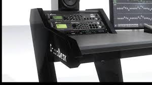 Omnirax Presto 4 Studio Desk Black Dimensions by Studio Desks Mc Desk Composer Ssl Aws Studio Desks Allen U0026