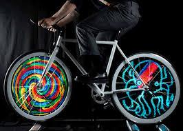 Customizable LED Bike Lights Awesome Stuff 365