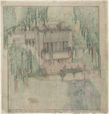 100 Frank Lloyd Wright Sketches For Sale Millard House La Miniatura Pasadena