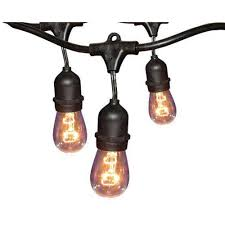 ove decors 48 ft 24 oversized edison light bulbs black gold all