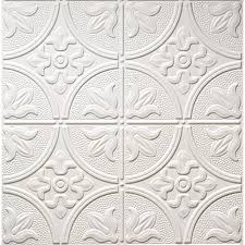 Soundproof Ceiling Tiles Menards by Armstrong Tintile Circles Tongue U0026 Groove Tile At Menards For