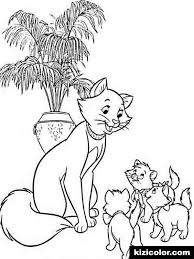 Animals Cats 20 Coloring Page