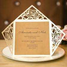 Rustic Style Wedding Invitations Unique Laser Cut Country Uk