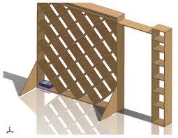 Small Wood Shelf Plans by Echoes In Eternity Diagonal Bookshelf Plans