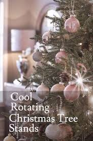 Heavy Duty Rotating Christmas Tree Stands For Real And Artificial Trees Revolving Twinkling