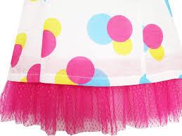 girls dress pink turn down collar lace trim polka dot u2013 sunny fashion