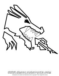 Ninjago Dragon Coloring Page