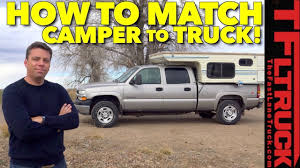 100 Camper For Truck How To Best Match A To Your Chevy Hallmark