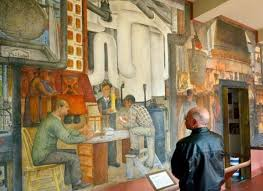 Coit Tower Murals Book by The Top 25 Free Things To Do In San Francisco Huffpost