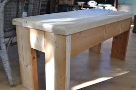 DIY Rustic Bench For The Entry