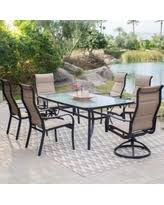 7 Piece Patio Dining Set by Big Deal On Hampton Bay Statesville 7 Piece Padded Sling Patio