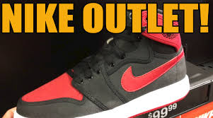 Nike Outlet by Banned Air 1 At Nike Outlet