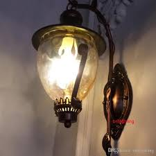 2018 corner l metal wall sconce antique bedside ls dimmable