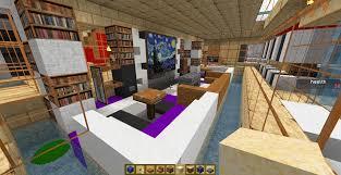 Minecraft House Design Living Room by Quicksilver X on DeviantArt