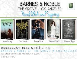 Photos From YA Event At Barnes & Noble @the Grove Kami Garcia Lea Michele At Cd Louder Signing Barnes And Noble The Grove Hillary Clintons Book Signing For Hard Choices Naya Rivera Sorry Not Book Toni Tennille Signs And Discusses Her New Maddie Ziegler Copies Of The Diaries Mortal Minute Exclusive Clockwork Princess Tour Prepon Folsom Among Bookstores To Sell Beer Wine Celebrity Signings Soup In Los Angeles Sky Ferreira Spotted At Shopping Meghan Trainor For Join Us Tomorrow When We Celebrate Events