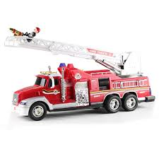 2015 Large Fire Engine Spray Water 9 Channel Remote Control Fire ... Lot 246 Vintage Remote Control Fire Truck Akiba Antiques Kid Galaxy My First Rc Toddler Toy Red Helicopter Car Rechargeable Emergency Amazoncom Double E 4 Wheel Drive 10 Channel Paw Patrol Marshal Ride On Myer Online China Fire Truck Remote Controlled Nyfd Snorkel Unit 20 Jumbo Rescue Engine Ladder Is Great Fun Super Sale Squeezable Toysrus