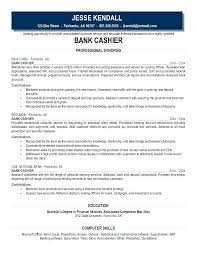 Resume Examples For Bankers Packed With Banker Sample Resumes