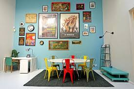 Chairs In Diverse Colors And Finishes Are Definitely A Trendy Choice The Eclectic Dining Room