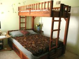 Wood Plans For Loft Bed by Bunk Beds Bunk Beds With Futon On Bottom Queen Bunk Beds For