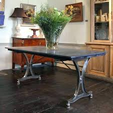 Industrial Dining Table Set Early Century Desk Chic