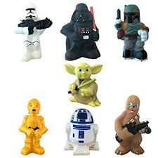 Disney Character Bathroom Sets by Amazon Com Disney Parks Exclusive Star Wars Set Of 7 Character