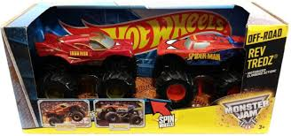 Hot Wheels Monster Jam Rev Tredz Double Pack - Monster Jam Rev Tredz ... Hot Wheels 2 Pack Monster Jam Truck Lowest Prices Specials Budhatrains Gallery Clodtalk The Home Of Rc Trucks Mainyt Akrobatas Su Spiderman Atributika Skelbiult Disney Regenr8rs 124 Spiderman Head Transforming Car Toys Games Super Hero Amazing Spider Man Blaze Toys And Monster Truck Games Tow Mater Monster Truck Hulk Nursery Rhymes Songs Dickie 112 Cyber Cycle Rtr With Remote Control Spiderman Mcqueen Cars Cartoon Stuntsnursery Comfortliving Two Sided Toy Game Flip Push New 1pcs Minions Four Drive Inertia Double Sided Dump