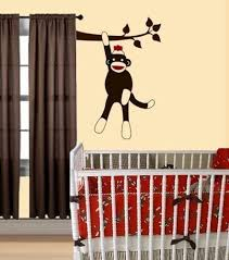 Sock Monkey Crib Bedding by Monkeys Everywhere U2014 Cici Crib Interiors