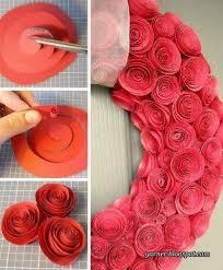 Flower Paper Craft Tutorial