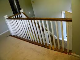 Wood Stairs And Rails And Iron Balusters: Replace Wrought Iron ... Are You Looking For A New Look Your Home But Dont Know Where Replace Banister Neauiccom Replacing Half Wall With Wrought Iron Balusters Angela East Remodelaholic Stair Renovation Using Existing Newel Fresh Best Railing Replacement 16843 Heath Stairworks Servicescomplete Removal Of Old Railing Staircase Remodel From Mc Trim Removal Carpet Home Design By Larizza Chaing Your Wood To On Fancy Stunning Styles 556