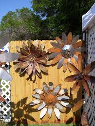 Rustic ReDiscovered Mikes Metal Flowers
