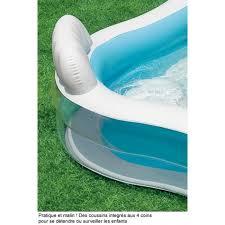 siege de piscine gonflable intex piscine avec siège 229 x 229 x 64 cm comparer avec