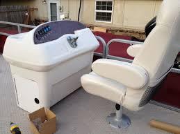 Crest Pontoon Captains Chair structures 1976 crest 21ft rebuild pontoon forum u003e get help with