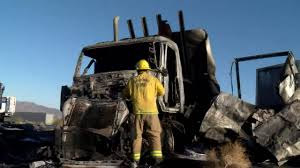 100 Old Dominion Truck ITeam New Information In Fiery Crash Involving Tour Bus Truck KESQ