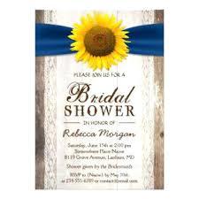 Idea Rustic Sunflower Wedding Invitations Or Beautiful Ribbon Bridal Shower 75