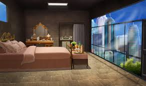 INT STONE FLOOR BEDROOM