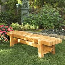 Outstanding Outdoor Furniture Plans Throughout Wood Bench Modern