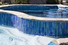 water line pool tile lightstreams custom glass pool tile c san