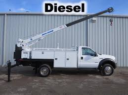 100 Service Trucks For Sale On Ebay F550 Diesel Utility Service Mechanics 5000lb Auto Crane Boom Tank