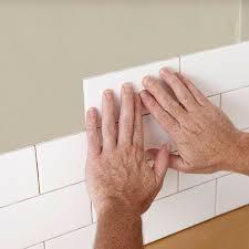 tile a backsplash without toil