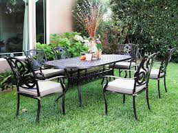 Agio 7 Piece Patio Dining Set Costco Decor Of Chairs Furniture Interior Design